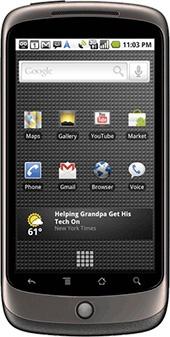 Google Nexus One Grijs