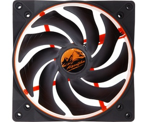 Alpenfoehn WingBoost2 - Deep Orange, 140mm