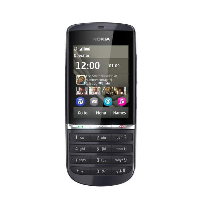 Nokia Asha 300 Grijs