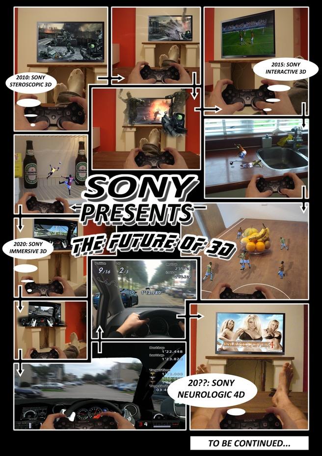 Winnende inzending Sony-3d-prijsvraag