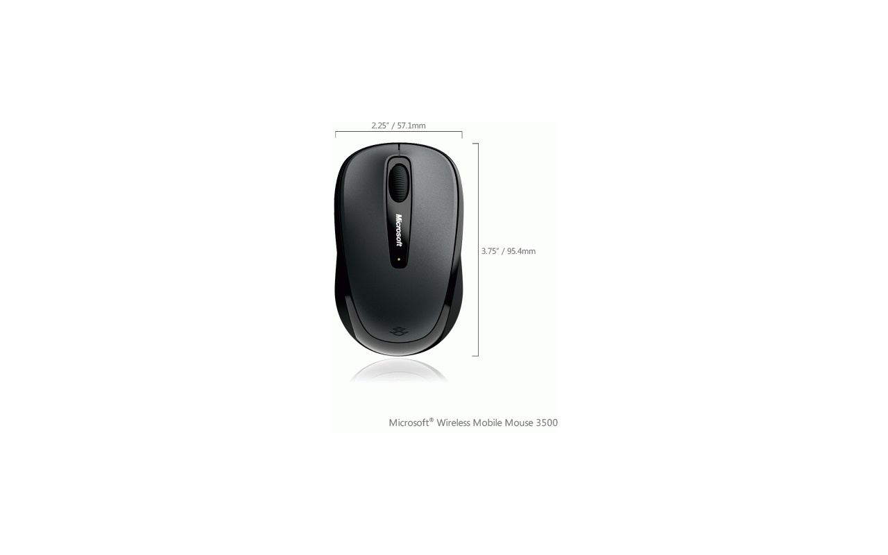 microsoft wireless mouse 3500 manual
