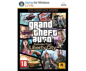 Packshot voor Grand Theft Auto: Episodes From Liberty City