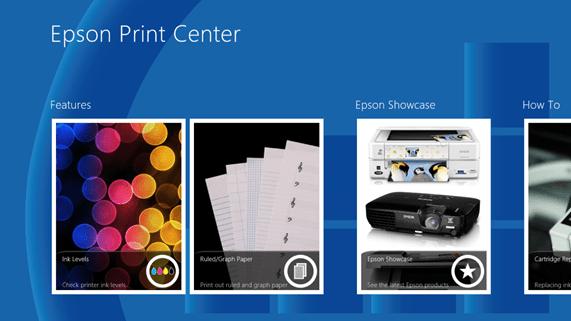Metro-style gui voor printerdriver in Windows 8