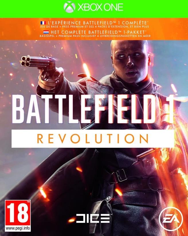 Battlefield 1 Revolution Edition, Xbox One