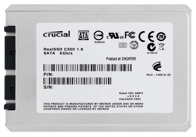 Crucial RealSSD 1,8inch