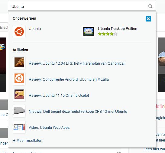 Tweakers 7.0 Quicksearch teaser