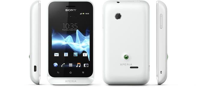 Sony Xperia tipo Wit