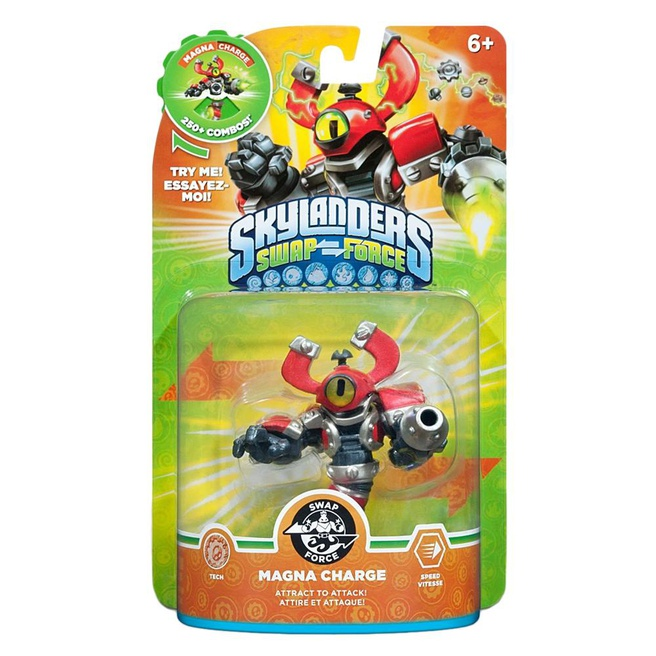 Skylanders Swap Force Magna Charge, Nintendo 3DS, PlayStation 3, PlayStation 4, Wii, Wii U, Xbox 360, Xbox One