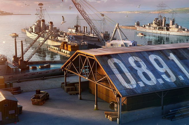 World of Warships 0.8.9.1