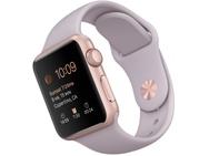 Apple Watch Sport (38mm) Rosé Goud (Paars)