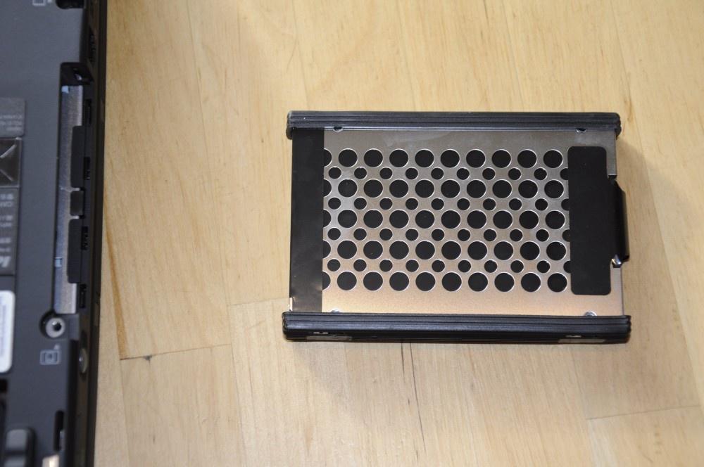 Harddisk met rubberen bescherming