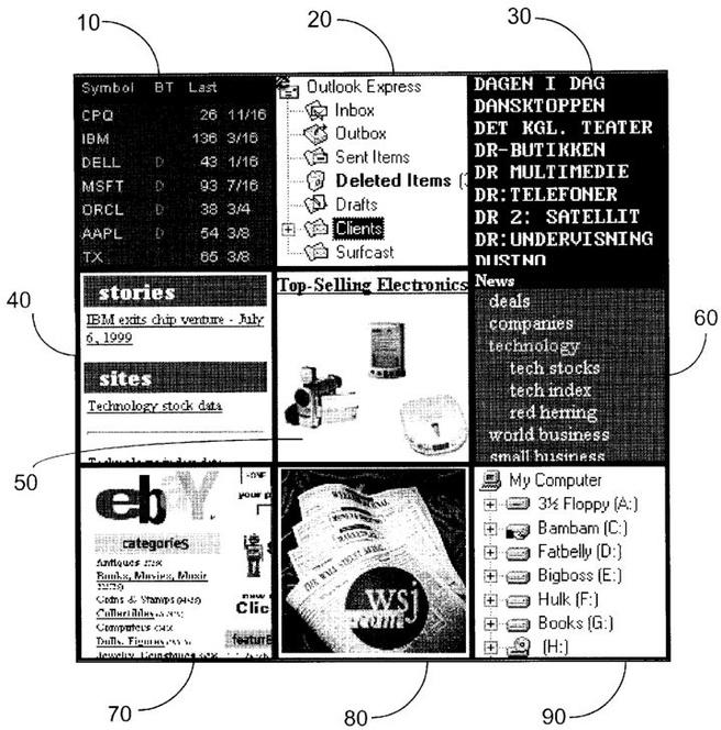 Schema uit patent van Surfcast