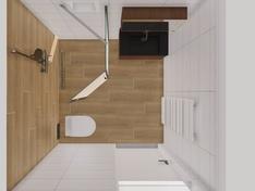 bovenaanzicht badkamer