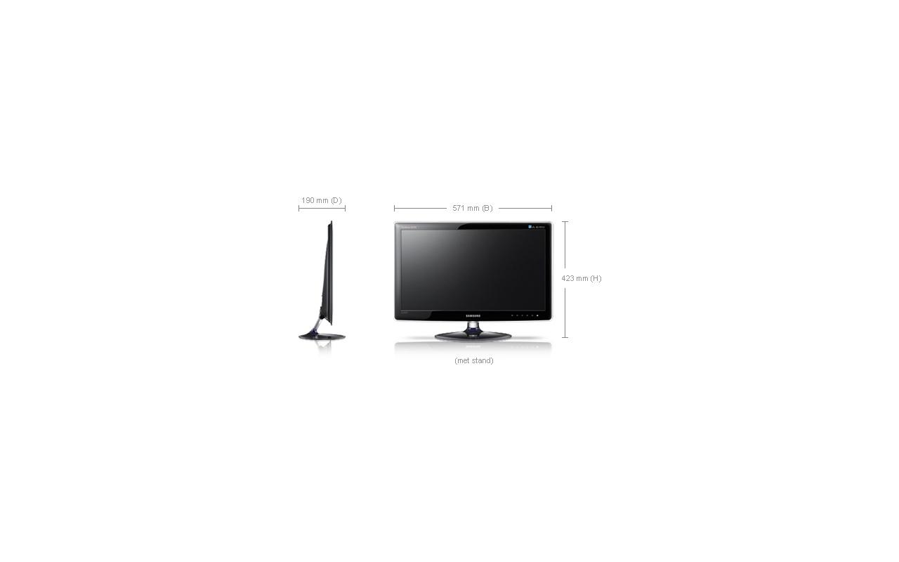 Samsung Syncmaster XL2370 Zwart - Specificaties - Tweakers