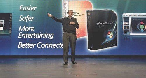 Windows Vista Bill Gates
