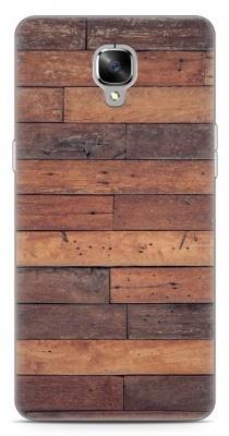 Just in Case OnePlus 3 / OnePlus 3T Hoesje Houten planken