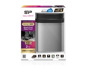 Silicon Power Armor A85 2TB Zilver