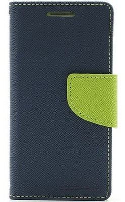 Mercury Fancy Diary WalletCase - Samsung Galaxy S4 Mini - Blauw Blauw