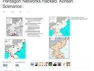 Screenshots mogelijke hack Verenigde Staten