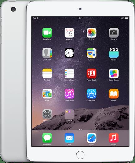 Apple iPad Mini 3 WiFi 16GB Zilver