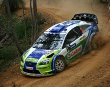 Ford Focus WRC van Marcus Grönholm