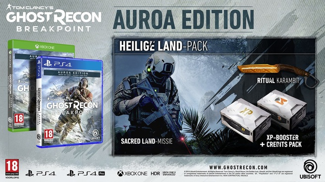 Tom Clancy's Ghost Recon Breakpoint (Auroa Edition), Xbox One