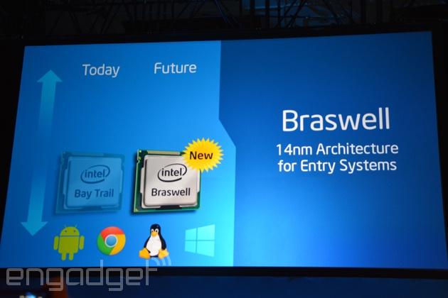 Intel Braswell IDF 2014 Shenzen Engadget