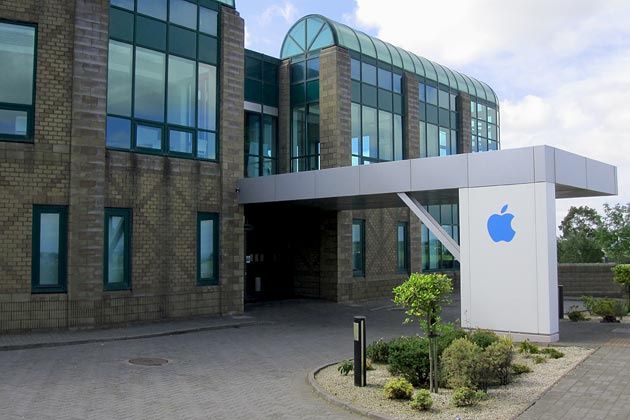 Vestiging van Apple in Ierse stad Cork