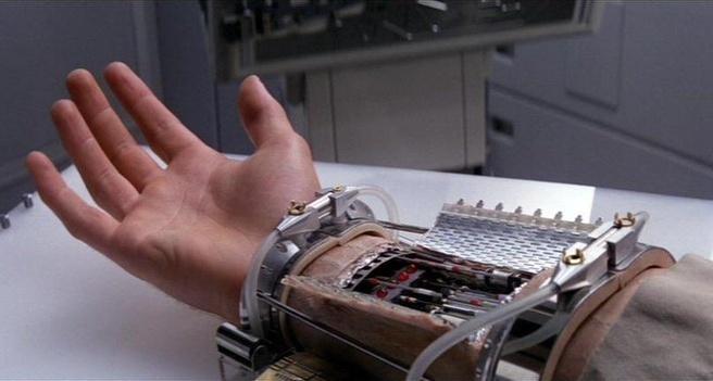 Luke Skywalkers hand