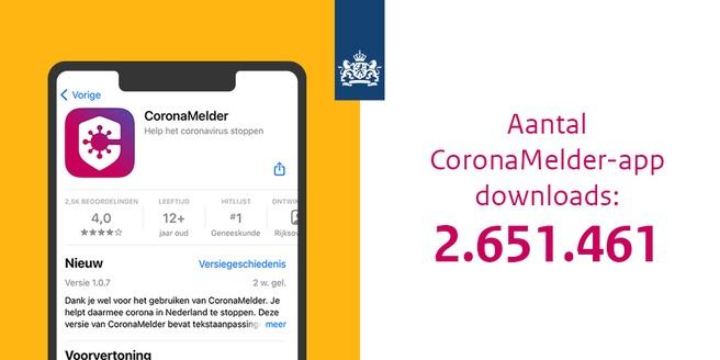 Downloads CoronaMelder