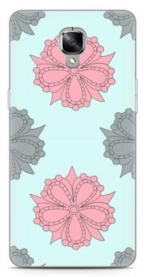 Just in Case OnePlus 3 / OnePlus 3T Hoesje Mandala Bloemen Groen