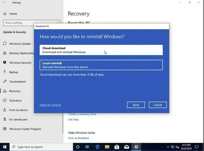 Windows 10 Insider Preview Build 18970