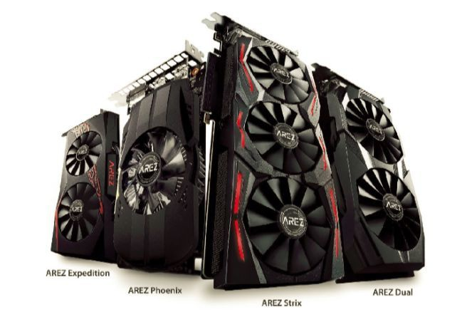 Asus Arez line-up