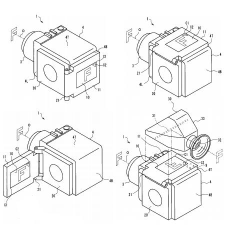 Olympus patent vari-angle lcd