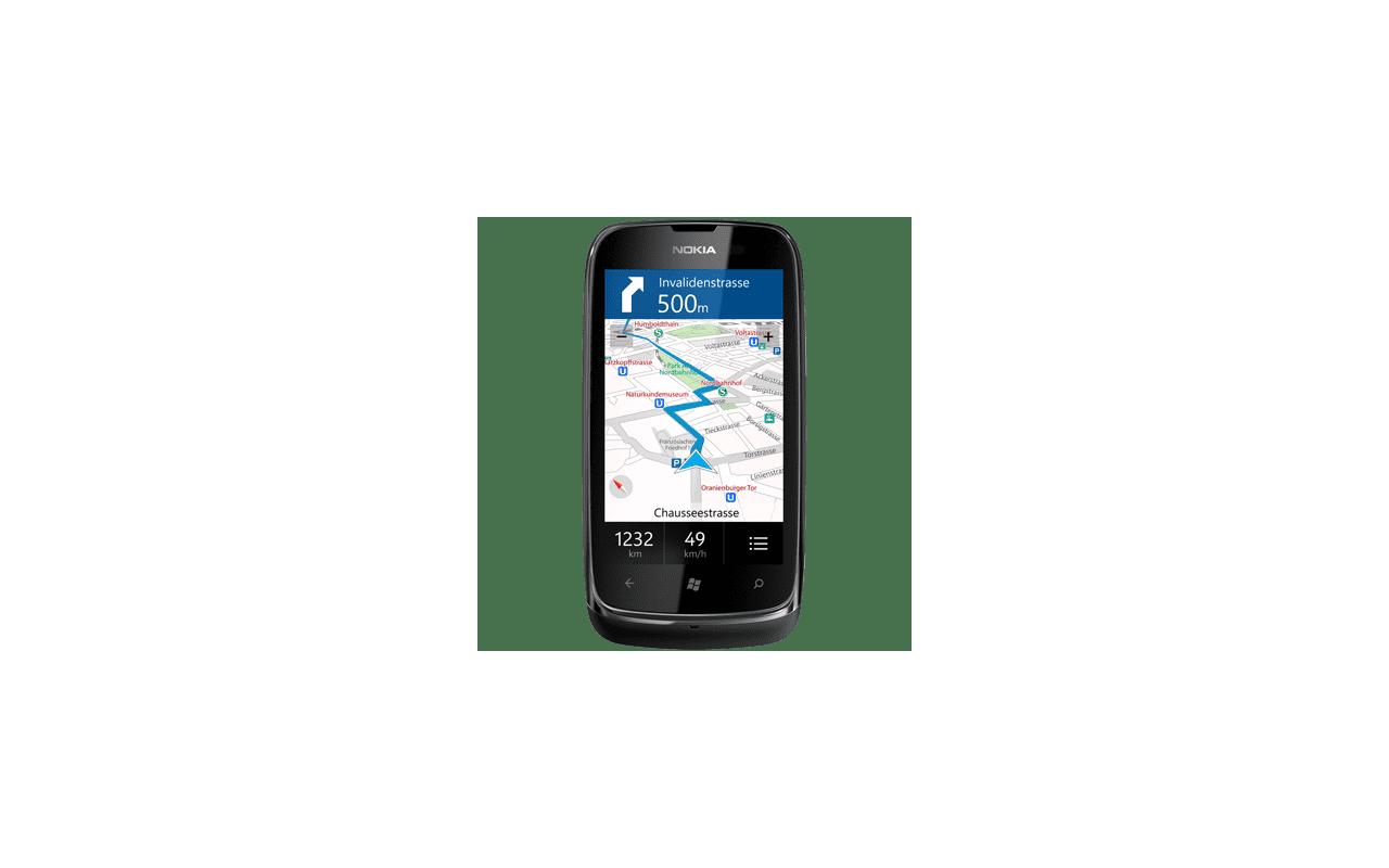 Nokia Lumia 610 Blauw