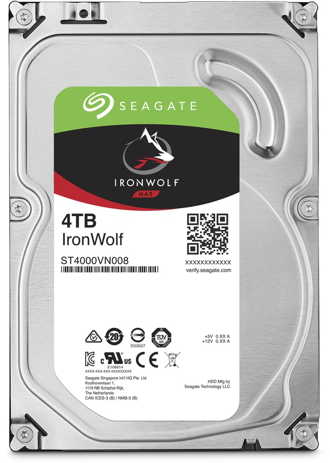 Seagate IronWolf, 4TB