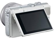 Canon EOS M100 Wit + 15-45mm f/3.5-6.3 Zilver + Beschermhoes Wit