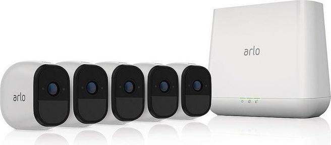 Netgear Arlo Pro slim beveiligingssysteem met 5 camera's