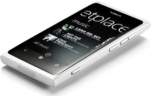 Nokia Lumia 800 Wit