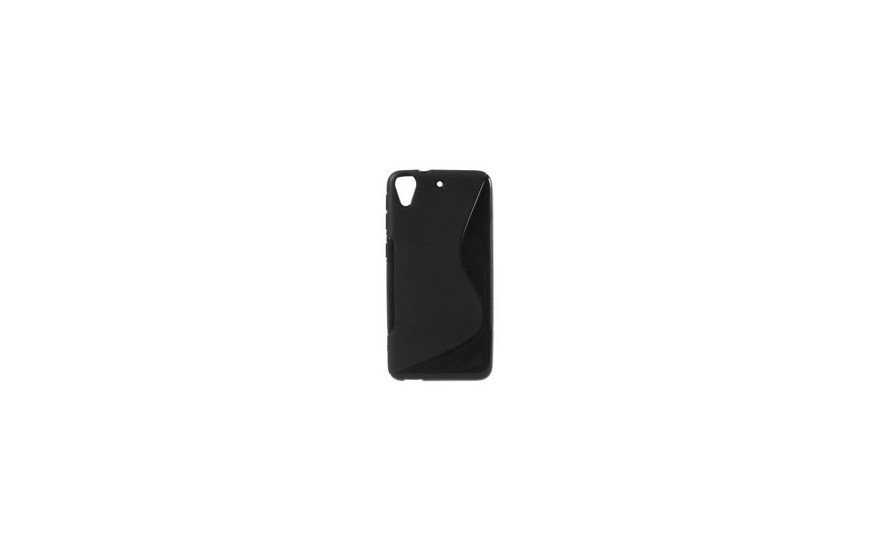 qMust S-Style TPU Case HTC Desire 626 - zacht rubberen hoes - zwart