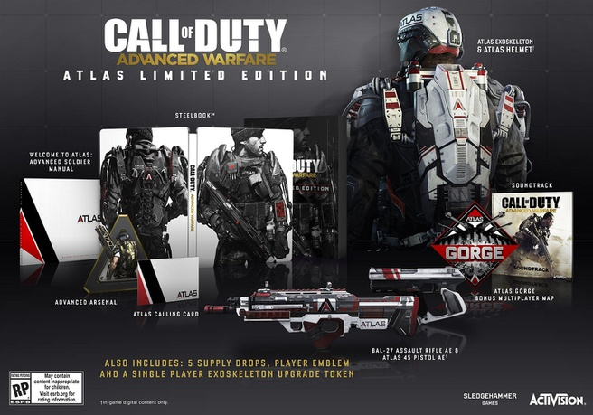 Call Of Duty: Advanced Warfare Atlas Edition