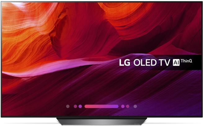 LG OLED65B8PLA Zwart