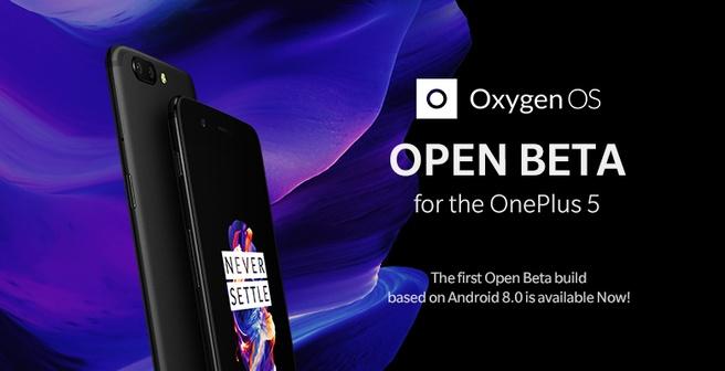 Open bèta voor OnePlus 5