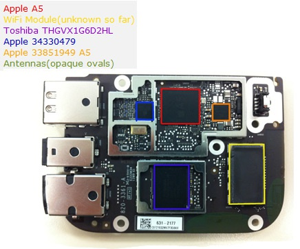 Apple TV 3rd gen teardown
