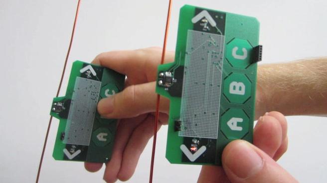 Draadloze sensors zonder energiebron