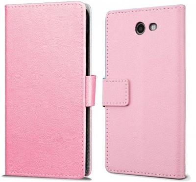 qMust Samsung Galaxy J7 (2017) Wallet Hoesje Roze