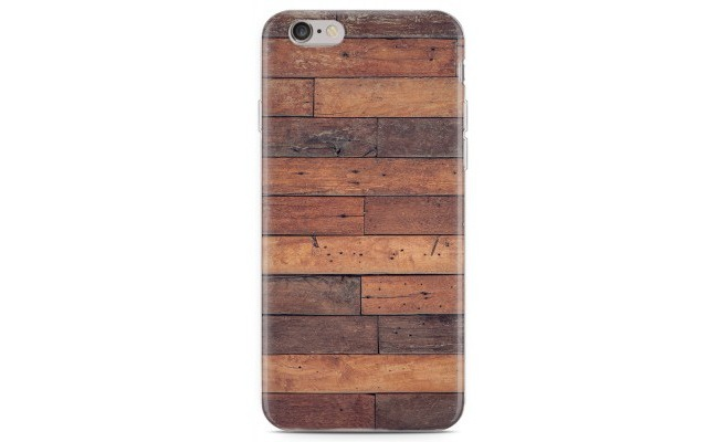 Just in Case iPhone 6/6S hoesje Houten planken