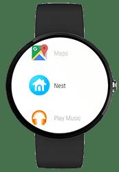 Nest-app voor smartwatch