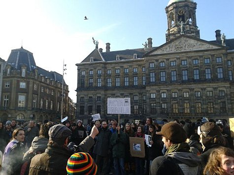 ACTA Demonstratie Amsterdam