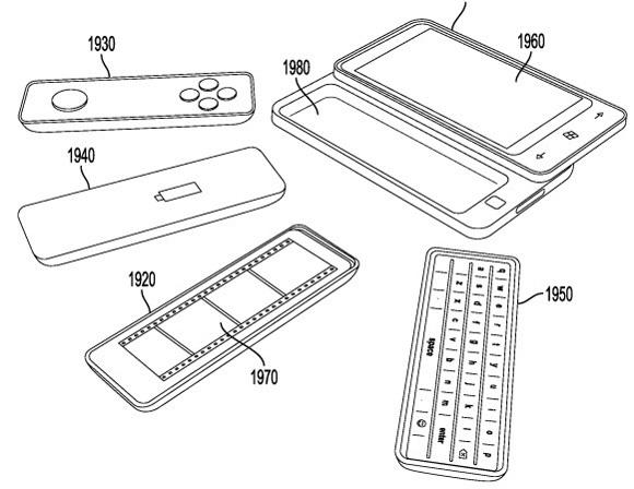Modulaire smartphone-accessoires patent